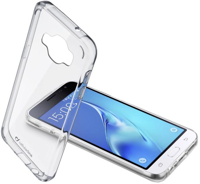 CellularLine CLEAR DUO zadní čirý kryt s ochranným rámečkem pro Samsung Galaxy J1 (2016)