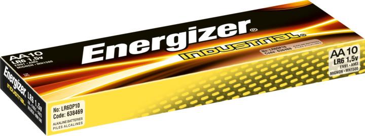 Energizer baterie LR6/10 Industrial AA/10, 10ks