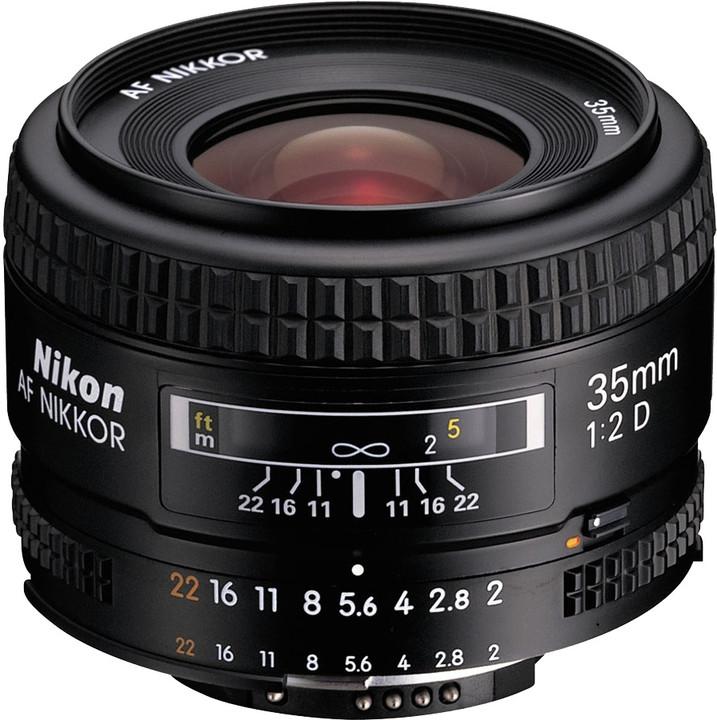 Nikon objektiv Nikkor 35mm f/2D AF