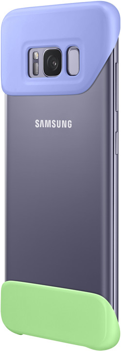 Samsung S8+, 2 dílný zadní kryt, violet