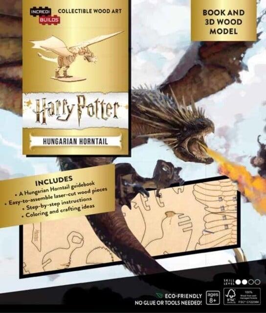 Stavebnice Harry Potter - Hungarian Horntail (dřevěná)