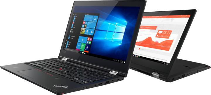 Lenovo ThinkPad L380 Yoga, černá