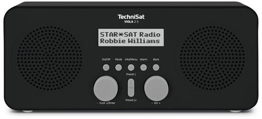 TechniSat VIOLA 2 S, černá