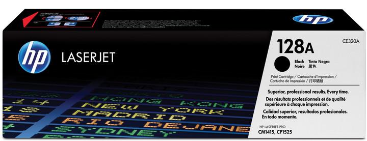 HP CE320A, černý