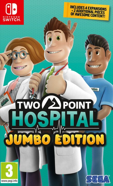 Two Point Hospital - JUMBO Edition (SWITCH)