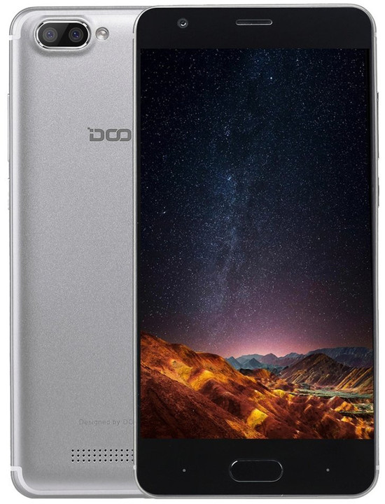 DOOGEE X20 - 16GB, stříbrná