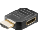 PremiumCord HDMI adaptér 19pin Female - 19pin Male do úhlu 90° pravá