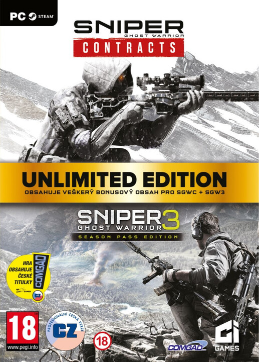 Sniper: Ghost Warrior Contracts - Unlimited Edition Bundle (PC)