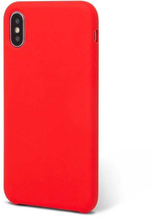 EPICO SILICONE zadní kryt pro iPhone X, červený