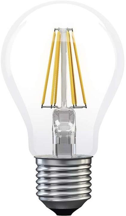 Emos LED žárovka Filament A60 A++ 6W E27, neutrální bílá
