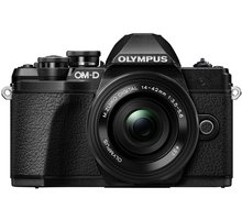 Olympus E-M10 Mark III + ED 14-42mm EZ, černá - V207072BE000