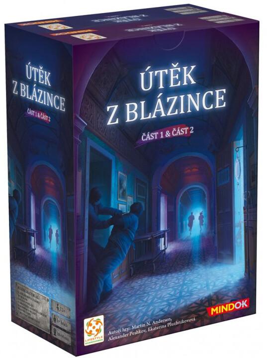 Karetní hra Útěk z blázince