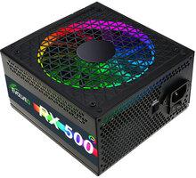 Evolveo RX 500 - 500W, RGB, bulk - czerx500