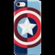 Tribe Marvel Captain America pouzdro pro iPhone 6/6s/7 - Modré