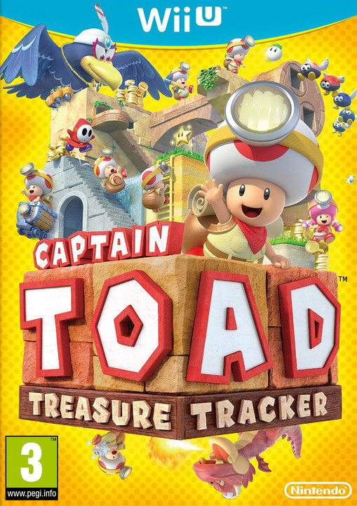 Captain Toad: Treasure Tracker (WiiU)