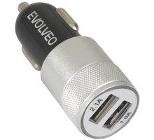 Evolveo MX220, Dual USB nabíječka do auta - SGM MX220