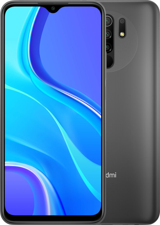 Xiaomi Redmi 9, 3GB/32GB, Carbon Grey