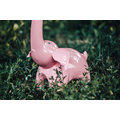 IMMAX LED stolní lampička slon růžový