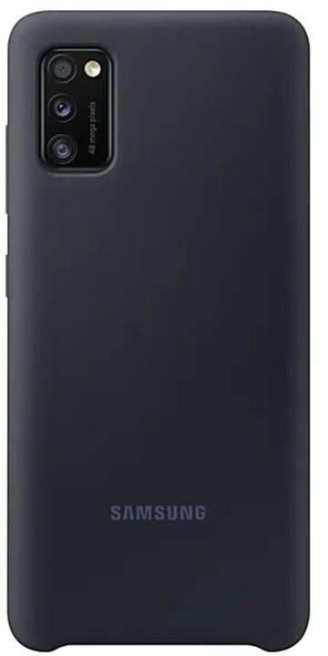 Samsung silikonový kryt pro Galaxy A41, černá