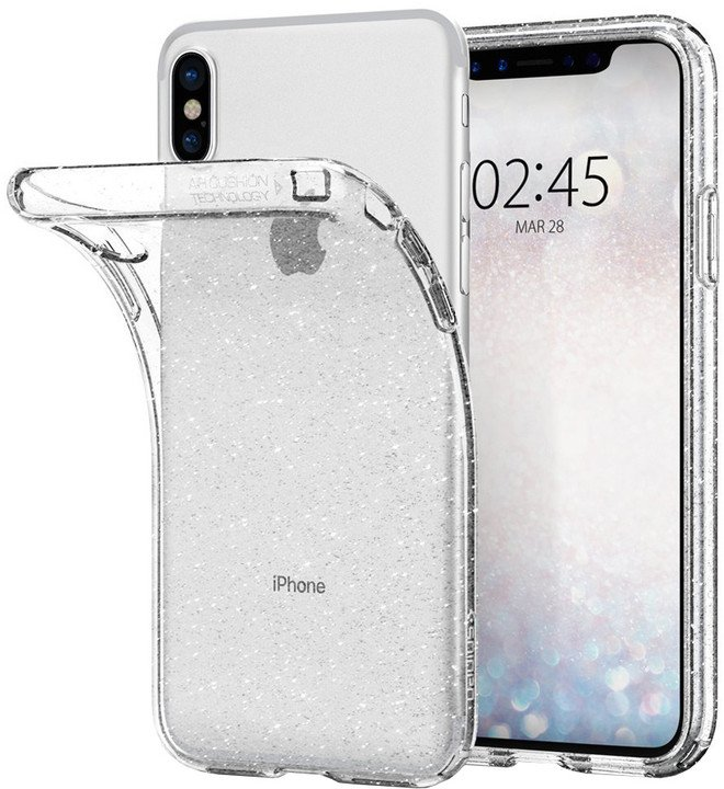 Spigen Liquid Crystal iPhone X, glitter crystal
