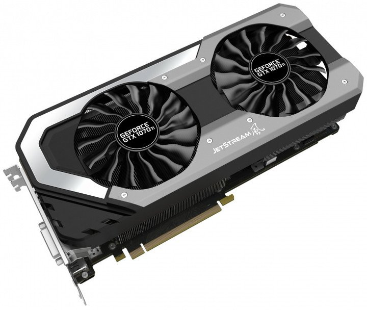 PALiT GeForce 1070 Ti JetStream, 8GB GDDR5