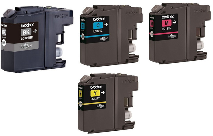 Brother LC-121 VALBP, multipack CMYK
