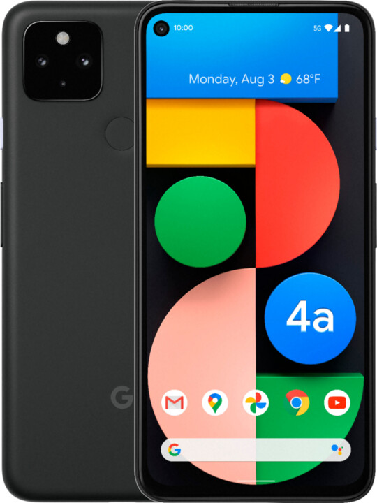 GOOGLE Pixel 4a 5G, 6GB/128GB, Just Black