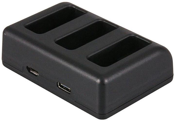 Patona nabíječka pro kameru Triple GoPro Hero 5 AHDBT-501