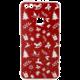 EPICO pružný plastový kryt pro Huawei P10 Lite RED XMAS  + EPICO Nabíjecí/Datový Micro USB kabel EPICO SENSE CABLE