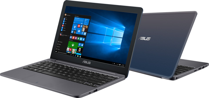 ASUS VivoBook E203NA, stříbrná