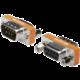 PremiumCord redukce 9M-9F null modem (překřížené zapojení)