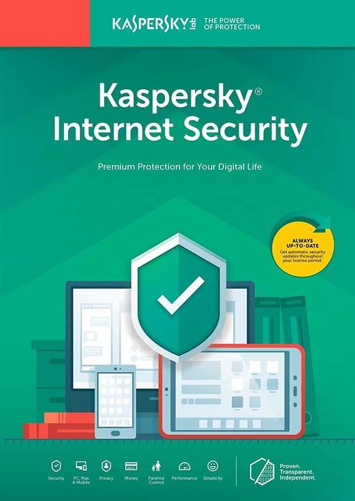 Kaspersky Internet-Security multi-device CZ pro 4 zařízení na 24 měsíců, nová licence