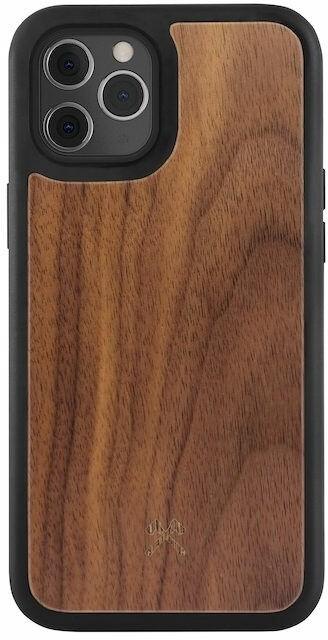 Woodcessories ochranný kryt TPU Bumper pro iPhone 12/12 Pro, Walnut/ořech