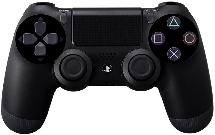 Sony PS4 DualShock 4, černý