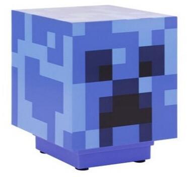 Lampička Minecraft - Charged Creeper