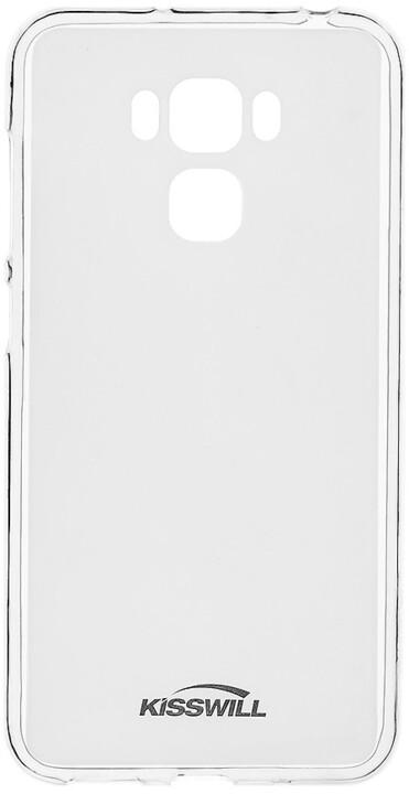 Kisswill TPU pro Asus ZenFone 3 Max ZC553KL, transparentní