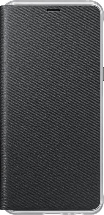Samsung A8 flipové neonové pouzdro, černé
