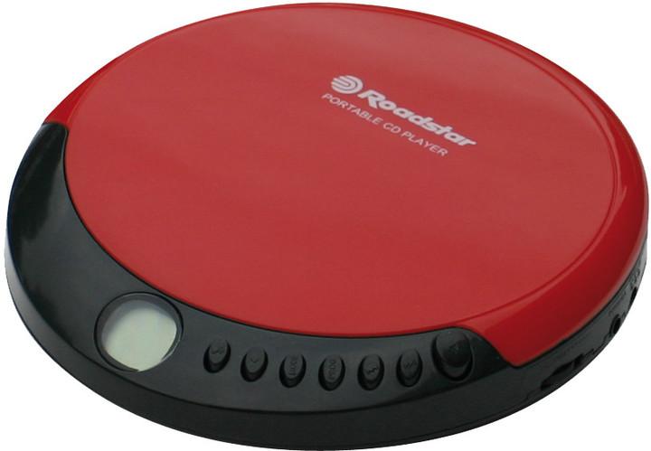 Roadstar PCD-435CD, červená