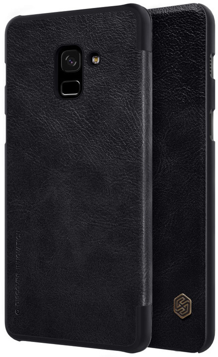 Nillkin Qin Book pouzdro pro Samsung A730 Galaxy A8 Plus 2018, Black