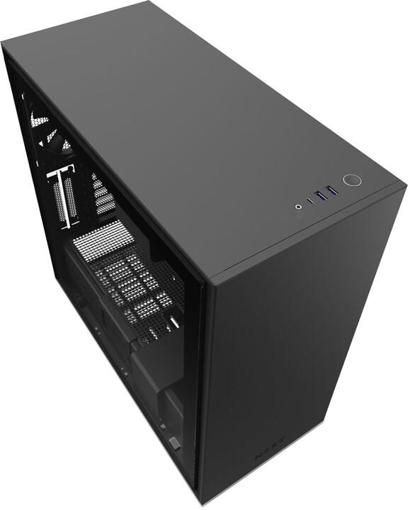 NZXT H710, okno, černá