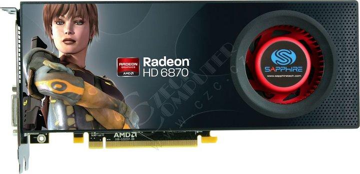 Sapphire HD 6870 (21179-00-40R) 1GB, PCI-E
