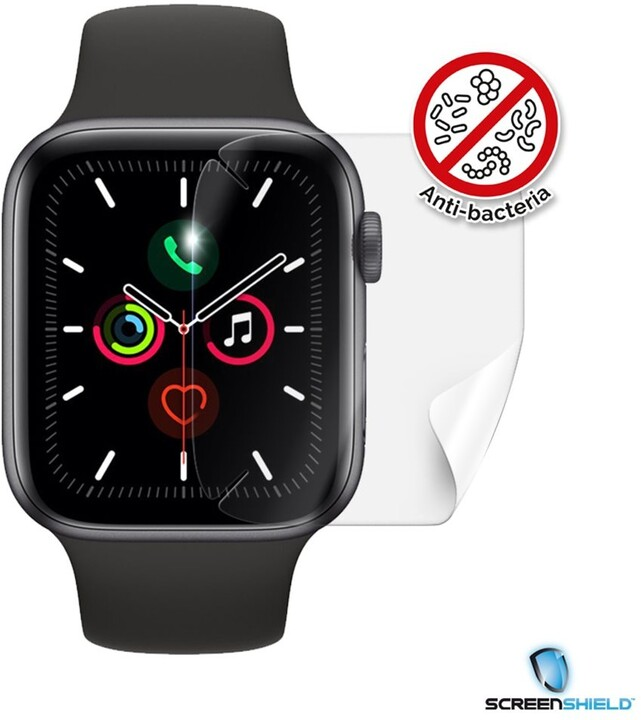 Screenshield fólie na displej Anti-Bacteria pro Apple Watch Series 6, (44mm)