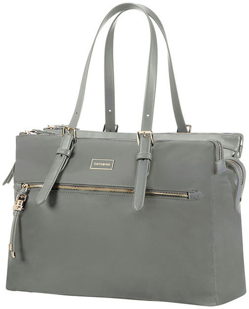 "Samsonite Karissa Biz ORGANISED SHOPPING 14.1"" Gunmetal Green"