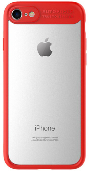 Mcdodo iPhone 7/8 PC + TPU Case, Red