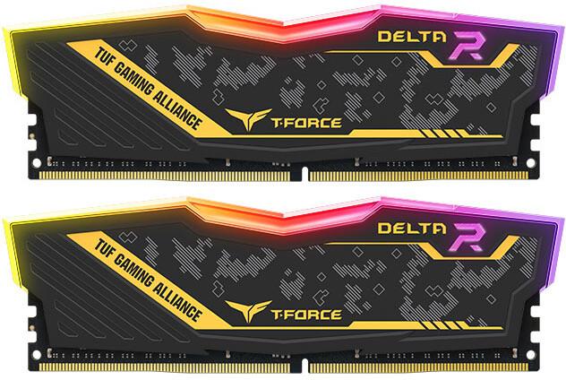 Team T-FORCE Delta TUF Gaming RGB 16GB (2x8GB) DDR4 2666
