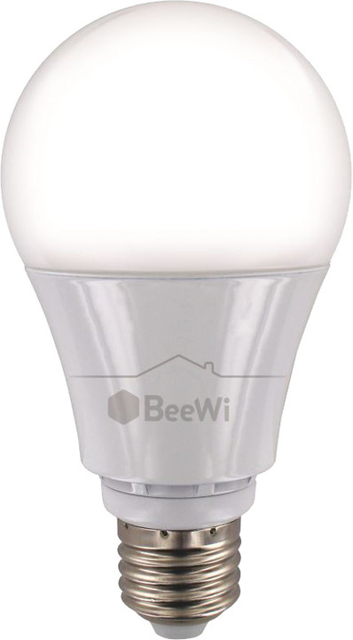 BeeWi chytrá programovatelná LED žárovka, RGB 11W E27