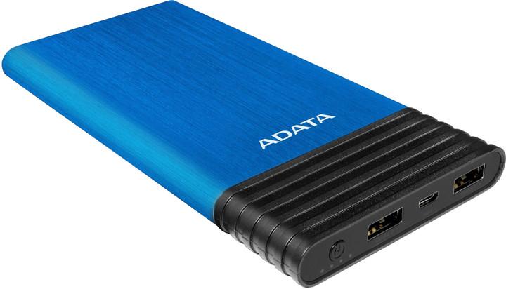 ADATA X7000 Power Bank 7000mAh, modrá