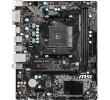 MSI A320M-A PRO - AMD A320