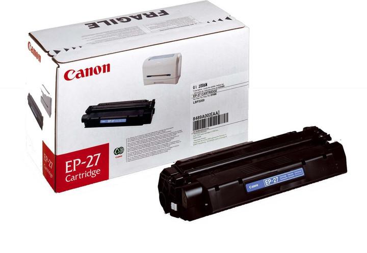 Canon EP-27, černý