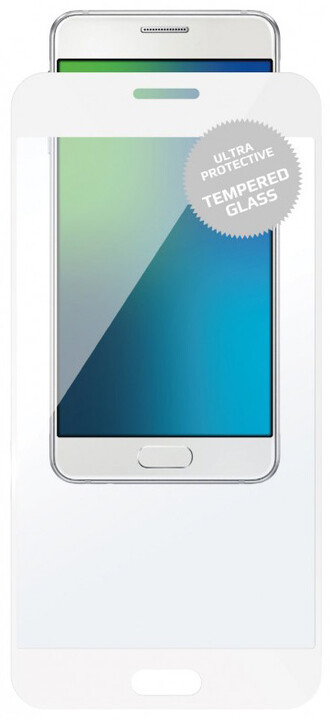 FIXED Full-Cover ochranné tvrzené sklo pro Motorola Moto G5S Plus, přes celý displej, bílé